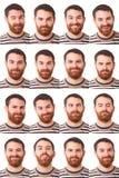 Espressioni Fotografia Stock