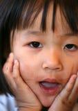 Espressioni dei bambini Fotografie Stock