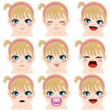 Espressioni della neonata royalty illustrazione gratis