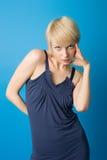Espressioni di Blondie immagine stock