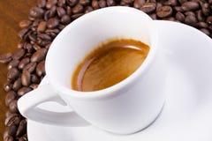 espresso καφέ Στοκ Εικόνα