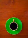 espresso φλυτζανιών Στοκ Φωτογραφίες