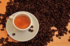 espresso φλυτζανιών Στοκ Εικόνα