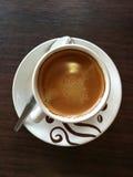espresso φλυτζανιών καφέ καυτό Στοκ φωτογραφίες με δικαίωμα ελεύθερης χρήσης
