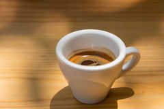 espresso φλυτζανιών καφέ Στοκ φωτογραφίες με δικαίωμα ελεύθερης χρήσης
