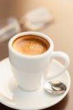 espresso φλυτζανιών καφέ Στοκ Φωτογραφίες