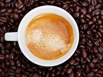 espresso кофейной чашки фасолей Стоковые Изображения RF