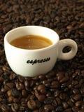 espresso кофе Стоковая Фотография