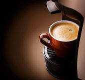 espresso кофе Стоковое Фото