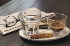 espresso Fotografia de Stock Royalty Free
