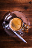 espresso Foto de Stock Royalty Free