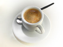 Espresso. Dolce far niente Royalty Free Stock Images
