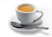 придайте форму чашки espresso Стоковое Изображение