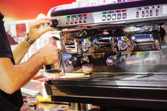 Espresso bar Royalty Free Stock Image