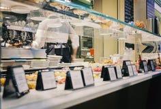 Espresso bar in Bologna Italy Stock Photo