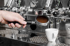 Espresso stock image