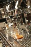 Espresso being prepared from coffee machine - Series 2 Stock Photos
