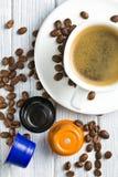 Espresso capsules Royalty Free Stock Image