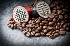 Espresso capsules Stock Photography