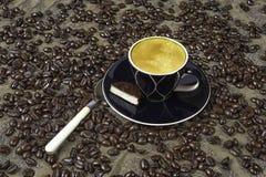 Espresso and Chocolate Stock Photos