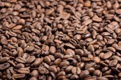 Espresso Coffe met Bonenarabica Stock Foto