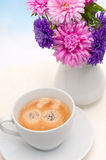 Espresso Coffe on Table Royalty Free Stock Image