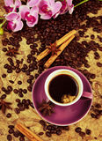 Espresso or coffee Royalty Free Stock Photography