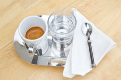 Espresso coffee. Stock Photography