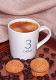 Espresso coffee Royalty Free Stock Image