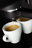 Espresso coffee Stock Photos