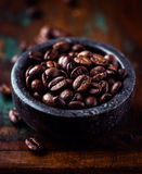 Espresso Coffee Beans Stock Photos