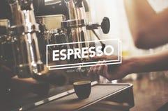 Espresso Coffee Caffeine Capuccino Delicious Concept Stock Photography