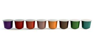 Espresso Coffee Capsules Stock Image