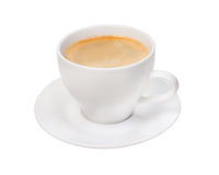 Espresso coffee . Cup of coffee Stock Image