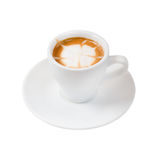 Espresso coffee . Cup of coffee Stock Photo