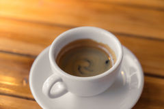 Espresso Coffee cup Royalty Free Stock Photography