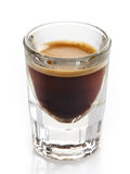 Espresso coffee glass Royalty Free Stock Image