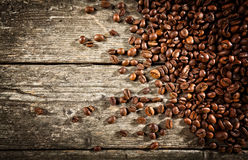 Espresso and coffee grain Stock Photo