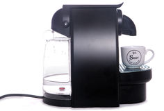 Espresso coffee machine Royalty Free Stock Photos