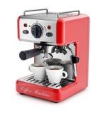 Espresso coffee machine Royalty Free Stock Photo