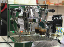 Espresso Coffee Machine Stock Photography