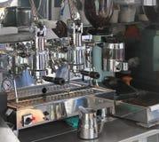 Espresso coffee machine Royalty Free Stock Photos