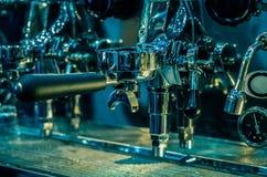 Espresso coffee machine tool automatic Stock Photos