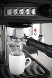 Espresso coffee maker Royalty Free Stock Images