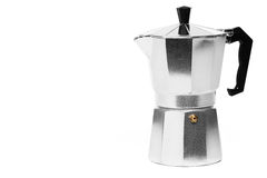 Espresso coffee maker Stock Photo