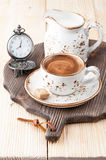 Espresso coffee. Сoffee time Royalty Free Stock Photos