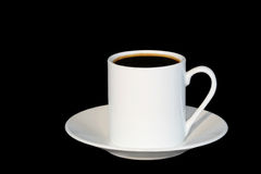 Espresso Coffee For One Stock Photography