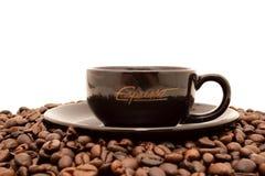Espresso-Cup Lizenzfreie Stockfotos