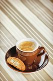 Espresso in a Cup Royalty Free Stock Photography