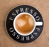 Espresso cup Stock Images